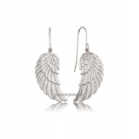 ENGELSRUFER earrings ere-wing silver angel wings