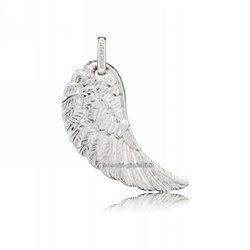 Engelsrufer erw ciondolo argento ali d'angelo