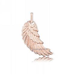 Engelsrufer erw-r ciondolo argento ali angelo