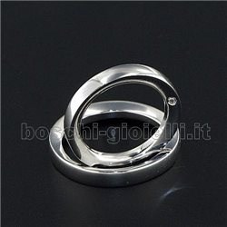 LuiLei f216 fedi nuziali argento oro platino