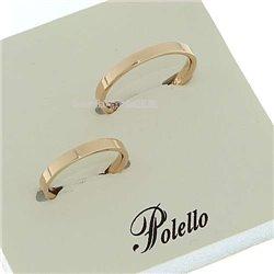Polello g2237r fedi nuziali oro rosa diamanti