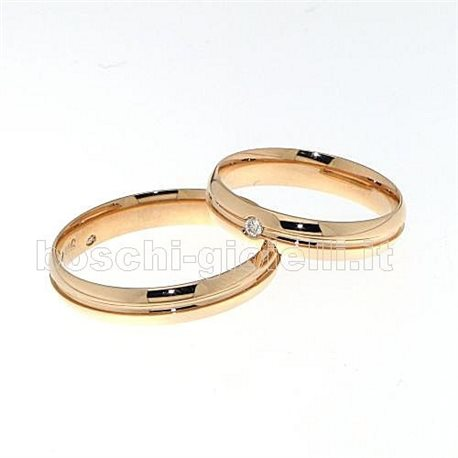 Polello g2427r wedding rings