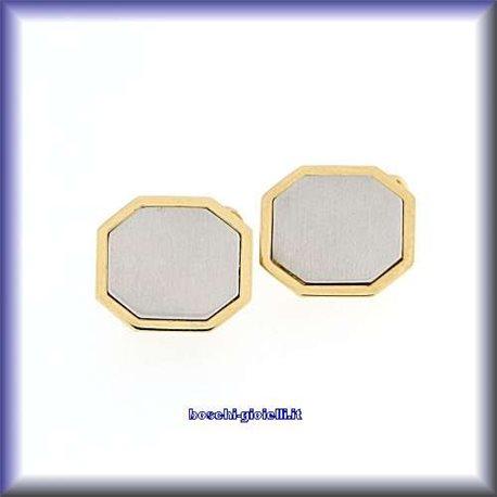 Gemelli gemelli collezione uomo oro 18k personalizzabili