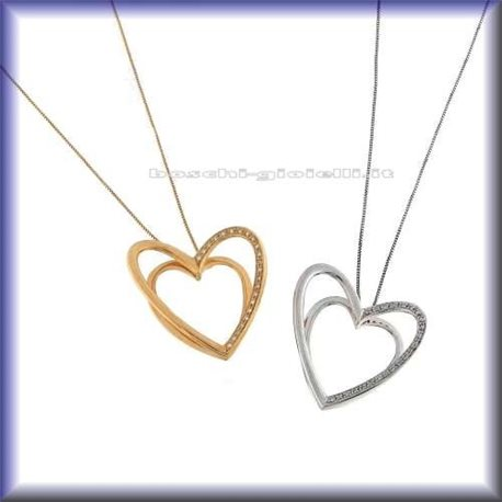 COMETE glb271 jewelry chain with pendent heart