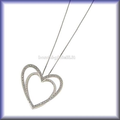 COMETE glb272 jewelry chain with pendent heart