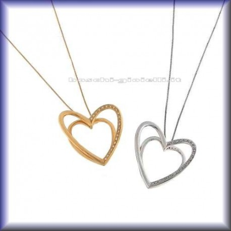 COMETE glb273 jewelry chain with pendent heart
